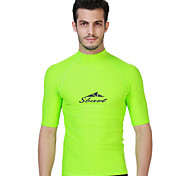 SBART Men's Diving Suits Diving Suit Compression Wetsuits 1.5 to 1.9 mm Green S / M / L / XL / XXL / XXXL / XXXXL Diving