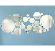3D Наклейки Простые наклейки / Зеркальные стикеры Декоративные наклейки на стены,Acrylic материал Съемная / Положение регулируется