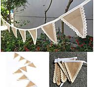 джут Экологичный материал Свадебные украшения-1шт / комплект Весна Лето Осень Зима НеперсонализированныйЭто прекрасный помощник для вас,