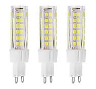 7 G9 Luces LED de Doble Pin T 75 LED Dip 650 lm Blanco Cálido / Blanco Fresco Decorativa AC 100-240 V 3 piezas