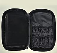 Pu Professional Makeup Brush Package Makeup Brush Pockets Large Portable Zipper Bag Color Random