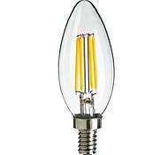 4W E14 360LM llevó estilo de punta de llama bombilla de filamento (220-240V)