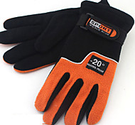 Winter Gloves Unisex Keep Warm Ski & Snowboard / Red / Blue / Brown / Orange Canvas Free Size-Others