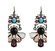Fine Jewelry European Style High-Grade Charms Fashion Crystal Diamond Zinc Alloy Earrings