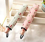 ciliegio dolce matita vinile leggero a tre sole automatica ombra ombrello uv ombrellone pioggia o sole a duplice uso