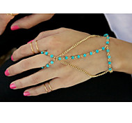 Chain Bracelets Alloy Fashionable Daily / Casual Jewelry Gift Gold