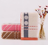 Pure Cotton Yarn Dyed Stripe Circles Towel Towels