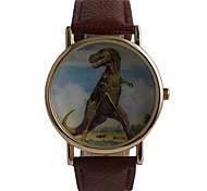 Male And Female Universal Cartoon Retro Dinosaur Belt Watch