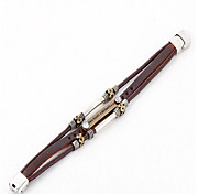 Leather Bracelets 1pc,Brown Bracelet Adorable  Leather Jewellery