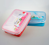 YEEYOO Brand Promotional gift Plastic Locking Lunch Box for office and students