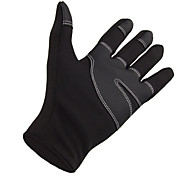 Winter Gloves Unisex Keep Warm Ski & Snowboard Black Canvas S / M / L / XL-Others