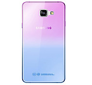 Fashion Soft TPU Gradient Color Back Cover Case For Samsung Galaxy A3 A5 A7 2016 A8 A9