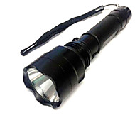 CREE Q5 500 Lumens Aluminum Alloy Rechargeable Flashlight