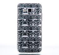 TPU Material Black Like Pattern Cellphone Case for Samsung Galaxy J710/J510/J5/J310/G530/G360