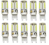 4W G9 Luci LED Bi-pin T 57 SMD 3014 300-450 lm Bianco caldo / Luce fredda / Bianco Decorativo / ImpermeabileDC 12 / AC 12 / AC 24 / DC 24