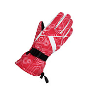Winter Gloves Unisex Keep Warm Ski & Snowboard / Snowboarding White / Red / Purple Canvas Free Size-Others
