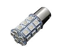 10X Ultra Blue 1156 BA15S 27SMD 5050 LED Light bulb US Backup Tail RV 7506 1141