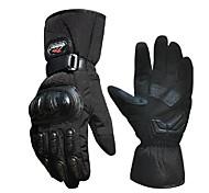 лыжные теплые перчатки ветрозащитные электрический гоночный автомобиль мотоцикл перчатки дождь холодной зимы полный палец