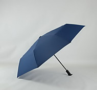 Automatic Sunny Umbrella Folding Umbrella Business Three Folding Umbrella Advertising