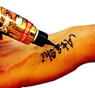 1 Временные краски Non Toxic хнаРебенок Для детей Женский Girl Мужской Взрослый Boy Подростки Вспышка татуировки Временные татуировки