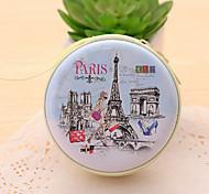 la borsa Torre Eiffel cambiamento di stagno (1 pz colore casuale)