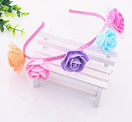 Garland Tiara Hair Accessories Halo Hair Clips Child Brides Flower Hair Band