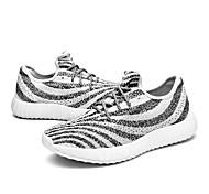 Fashion 39-44 Sneakers Per uomo / Per donna Smorzamento / Ammortizzamento / Traspirabile Basse Principiante / Tempo libero Bianco Corsa
