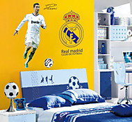 Football People Wall Stickers Fashion Living Room Bedroom Wall Decals