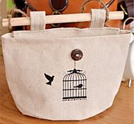 bolsa de almacenamiento ropero pared de la bolsa bolso colgante