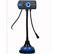 USB2.0 1200W Pixel  Night View HD Desktop Computer  Camera With Microphone Webcam