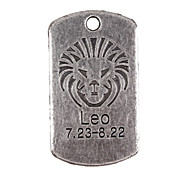 10pcs New Alloy Parts Twelve Constellation Leo Square Accessories