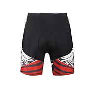 Breathable New Men 's Cycling Shorts Bike TROUSERS With 3 d Pad Lycra  DX655 Cark Grey Skeletons