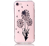 Per Custodia iPhone 7 / Custodia iPhone 7 Plus / Custodia iPhone 6 Transparente / Decorazioni in rilievo / Fantasia/disegno Custodia
