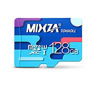 mixza 128 gb clase 10 micro sd tf tarjeta de memoria de destello genuina velocidad de lectura de alta velocidad: 80 MB / s resistente al