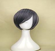 монолитным популярные серые парики из синтетических короткие прямые волосы парик для костюма парик женщины