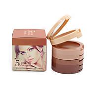 5 Colors Contour Palette Natural Camouflage Face Concealer Cream 3D Contouring Cosmetics Perfect Makeup Foundation