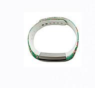 Smart Strap Bracelet Colorful Printing Silicone Bracelet For Fitbit Alta(04)