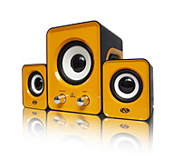 Notebook / Mobile Phone / Computer Speakers 2.1 Mini Stereo Subwoofer (Color Random Delivery)