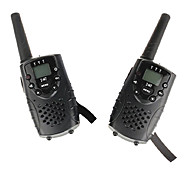 Mini Walkie Talkie(1 Pair)With Earphone Jack UHF 446Mhz Up to 6Km PMR T667 Twin Walkie Talkie for Kids