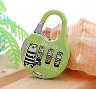 Backpacking Combination Lock(Initial Password 000)