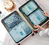 Water Proof Travel Bag Travel Collection Package 6 Pieces Of Luggage Bag