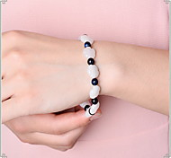 Bracelet Bracelets de rive Gemme Others Mode Bijoux Cadeau Blanc,1pc