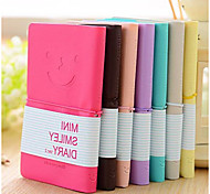 Korea Stationery Smiley Colorful Mini Notebook