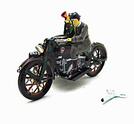 The Motorcycle  Wind-up Toy Leisure Hobby Metal Black For Kids