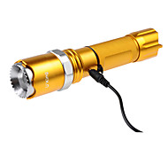U`King® LED Flashlights/Torch LED 1200LM Lumens 5 Mode - / Cree XM-L2 18650 Adjustable Focus / RechargeableCamping/Hiking/Caving /