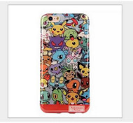 The iphone 6 Japanese cartoon Pikachu pokemon case for apple iphone6 plus