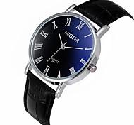 Fashion Leather Watches Classic Wristwatches Relogio Masculino Male Clock New Casual Slim Men Quartz Watch New