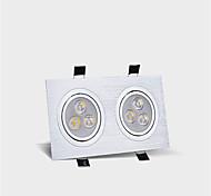 Downlight de LED 600LM lm Branco Quente / Branco Frio LED de Alta Potência Decorativa AC 85-265 V 1 Pças.