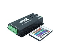 Sound Audio LED RGB IR Music Controller 24key 3 Channel 12A DC12-24V