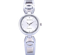 Women's Simple Fashion Slim PU Leather Strap Quartz Wrist Watch